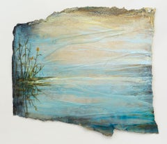 Morning Mist: Swedish Landscape Painting by Ann-Helen English