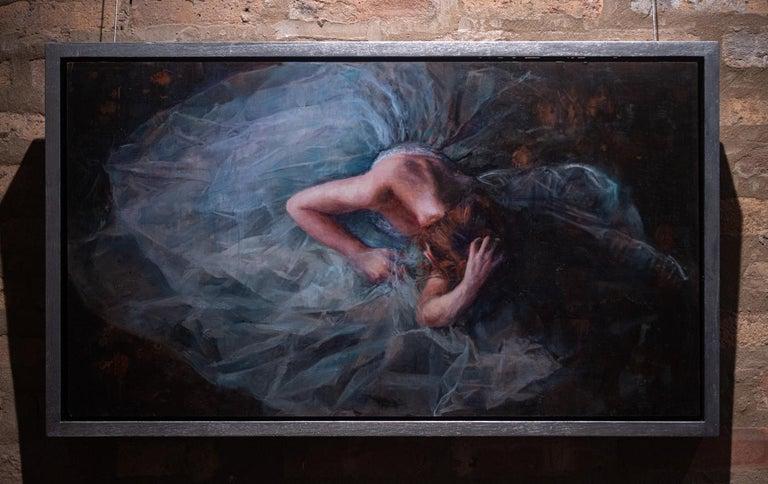 Cosmic Surrender - Painting by Ann Moeller Steverson