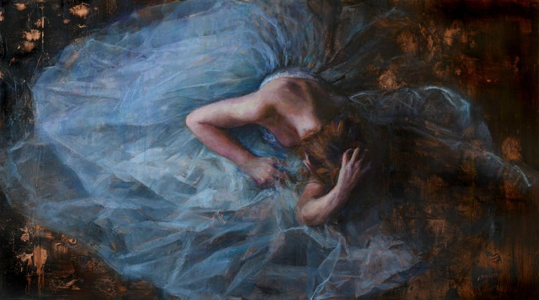 Ann Moeller Steverson Figurative Painting - Cosmic Surrender