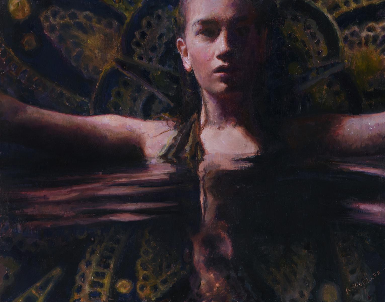 """""""Devine Rejuvenation,"""" Oil Painting"""