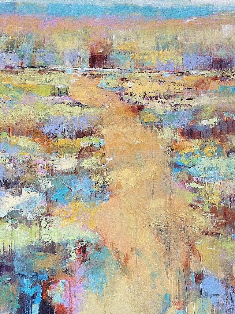 Ann Shogren Landscape Painting - Sweet Kisses of Sunshine