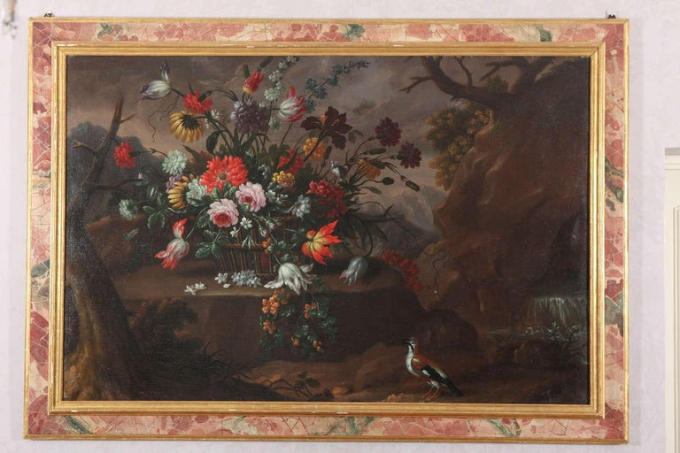 - ANNA CATERINA GILLI or GILLI Anna Caterina  Turin 1729- 1751 Her paintings  recorded in Turin  as a decorative artist  for the Royal Palace   and the Stupinigi,  working in a similar  manner  to Michele  Antonio Rapos. Extraordinary pair of  still