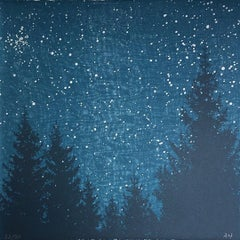 Anna Harley, Nordic Night Mini, Limited Edition Print, Landscape Art, Art Online