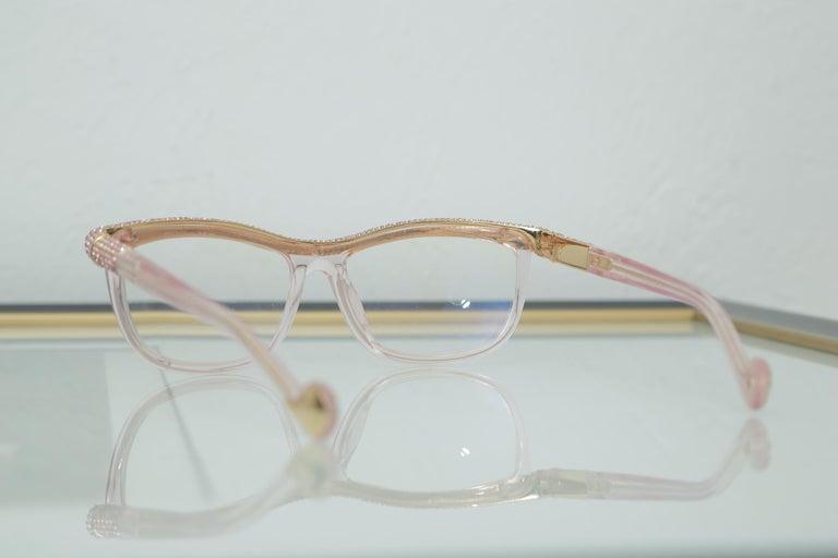 Women's or Men's Anna-Karin Karlsson Pink Kiki On A String Glasses Sunglasses For Sale