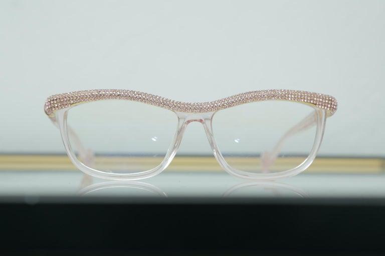 Anna-Karin Karlsson Pink Kiki On A String Glasses Sunglasses For Sale 1