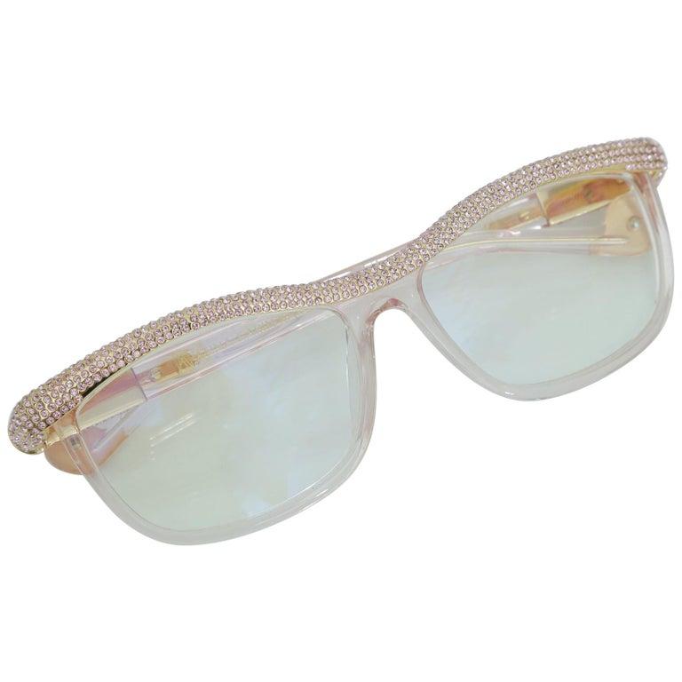 Anna-Karin Karlsson Pink Kiki On A String Glasses Sunglasses For Sale