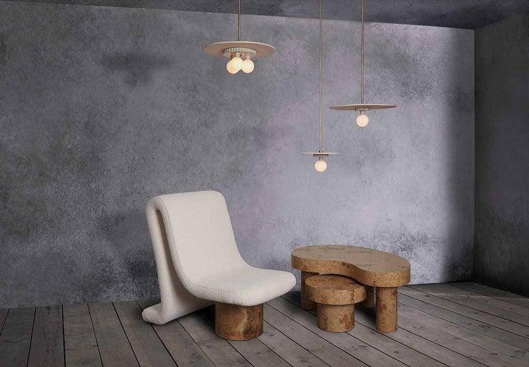 Anna Karlin Ceramic Pendant, Trio In New Condition For Sale In New York, NY