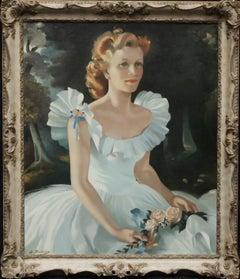 Portrait of Alice Robinson - American Beauty Kentucky Colonel Red Cross award