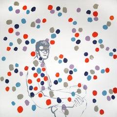 The Boy Kuba -  Modern, Contemporary Portrait Painting, Pop Art, Joyful