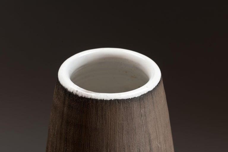 Anna-Lisa Thomson Ceramic 'Paprika' Vases (3) by Upsala Ekeby For Sale 3