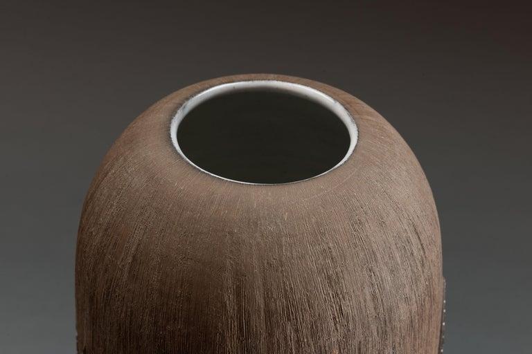 Anna-Lisa Thomson Ceramic 'Paprika' Vases (3) by Upsala Ekeby For Sale 5