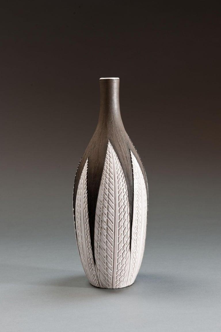 Anna-Lisa Thomson Ceramic 'Paprika' Vases (3) by Upsala Ekeby For Sale 7