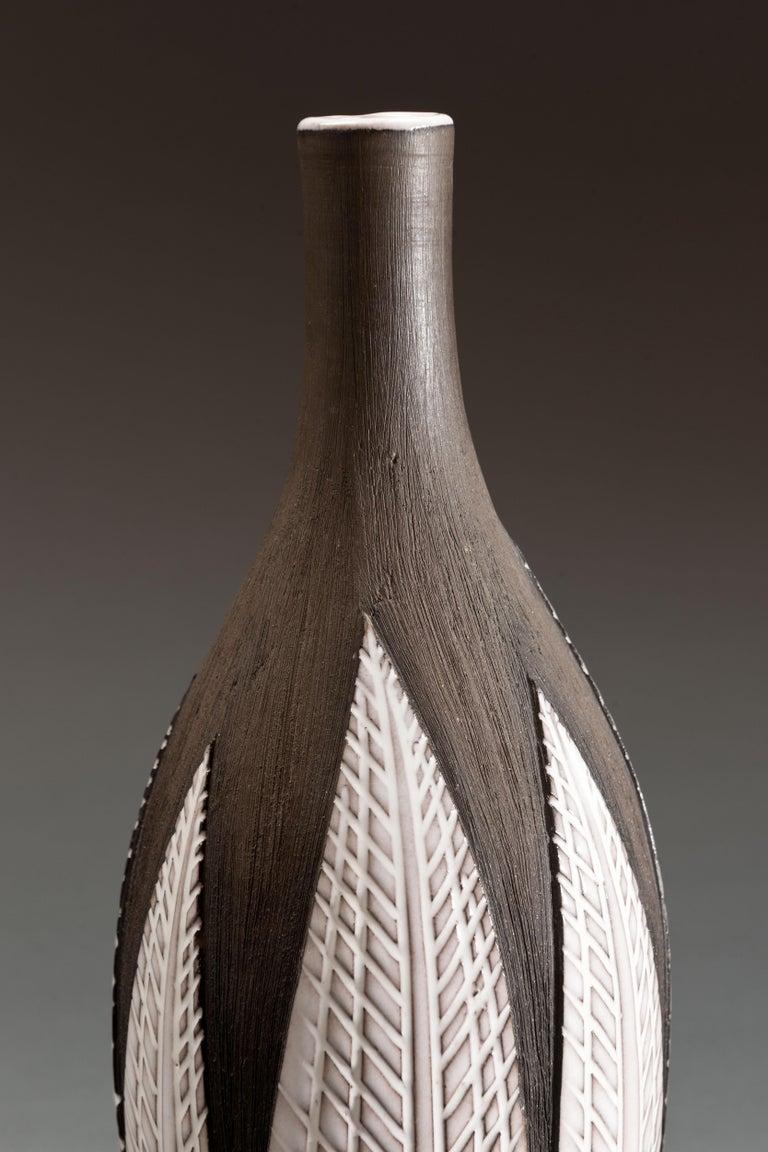 Anna-Lisa Thomson Ceramic 'Paprika' Vases (3) by Upsala Ekeby For Sale 8