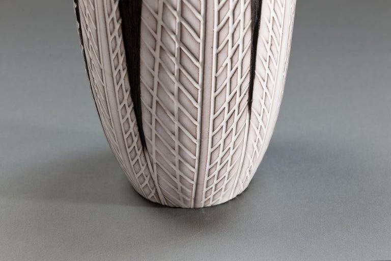 Anna-Lisa Thomson Ceramic 'Paprika' Vases (3) by Upsala Ekeby For Sale 9
