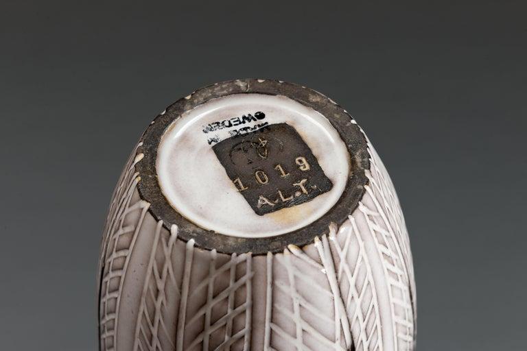 Anna-Lisa Thomson Ceramic 'Paprika' Vases (3) by Upsala Ekeby For Sale 11