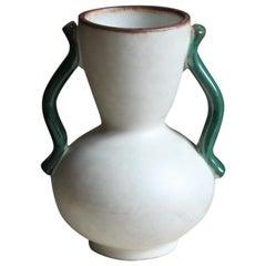 Anna-Lisa Thomson, Vase, Glazed Stoneware, Upsala-Ekeby, Sweden, 1940s
