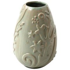 Anna-Lisa Thomson Vase Produced by Upsala Ekeby in Sweden