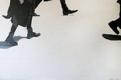 Run: Contemporary Figurative Acrylic On Canvas Painting by Anna Malikowska
