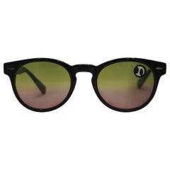 Anna Maria Brunelli bicolour lens sunglasses