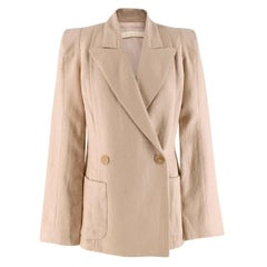 Anna Mason Cream Sharp Jacket  - Us Size 6