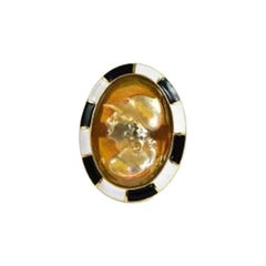 Anna Porcu Athena Ring 19th Century Antique Cameo in 18 Gold