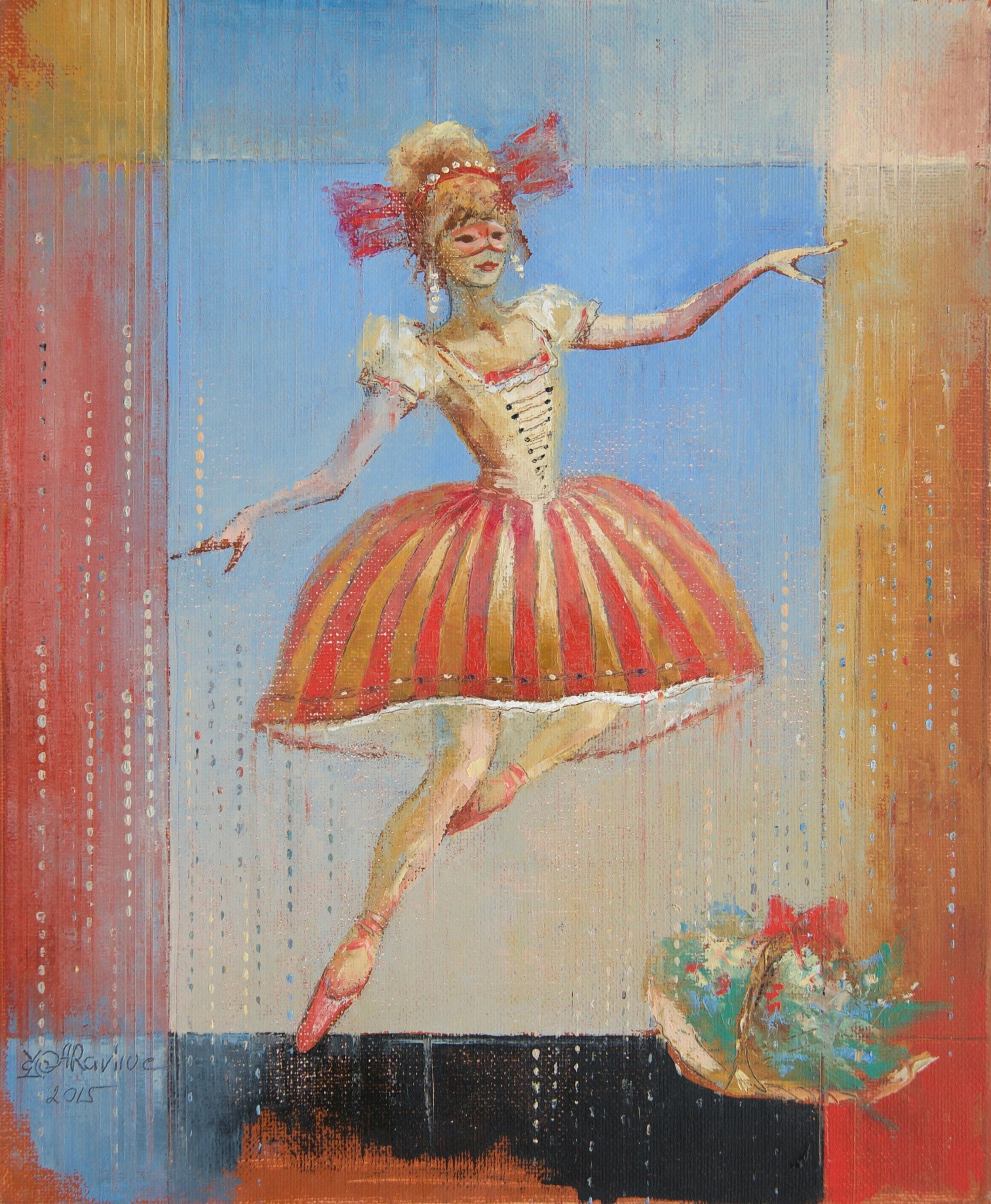 Dancing Melody, Painting, Oil on Canvas