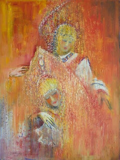 Russian Dance for the Sultan, Painting, Oil on Canvas