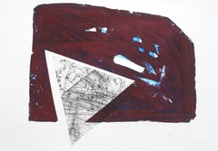 Trial, the other one- XX Century, Contemporary Abstract Print, Geometric