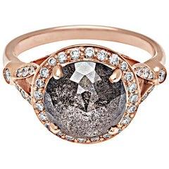 Anna Sheffield Carat Grey Diamond Luna Ring