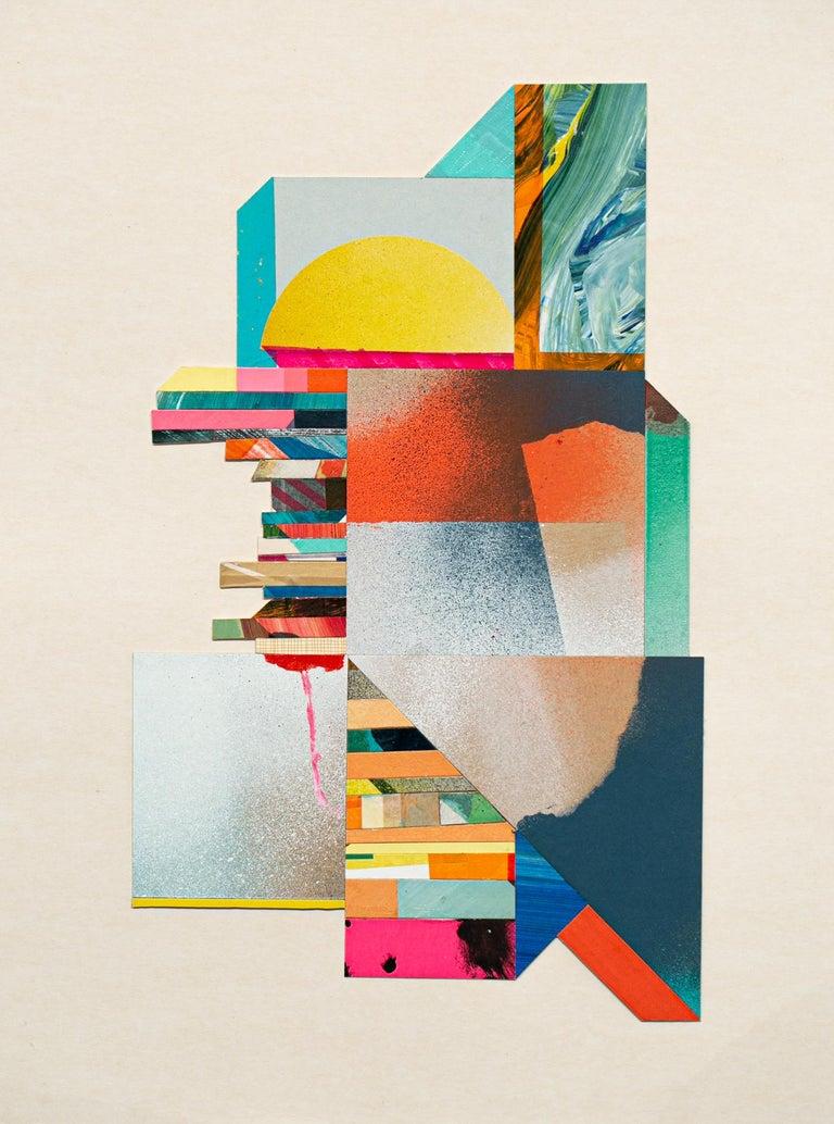 Anna Taratiel Abstract Painting - Bit 3