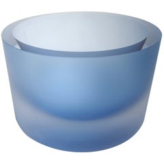 Anna Torfs Valenta Glass Bowl in Water Blue
