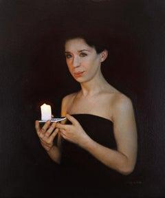 """""""Own light"""" Oil Painting"""