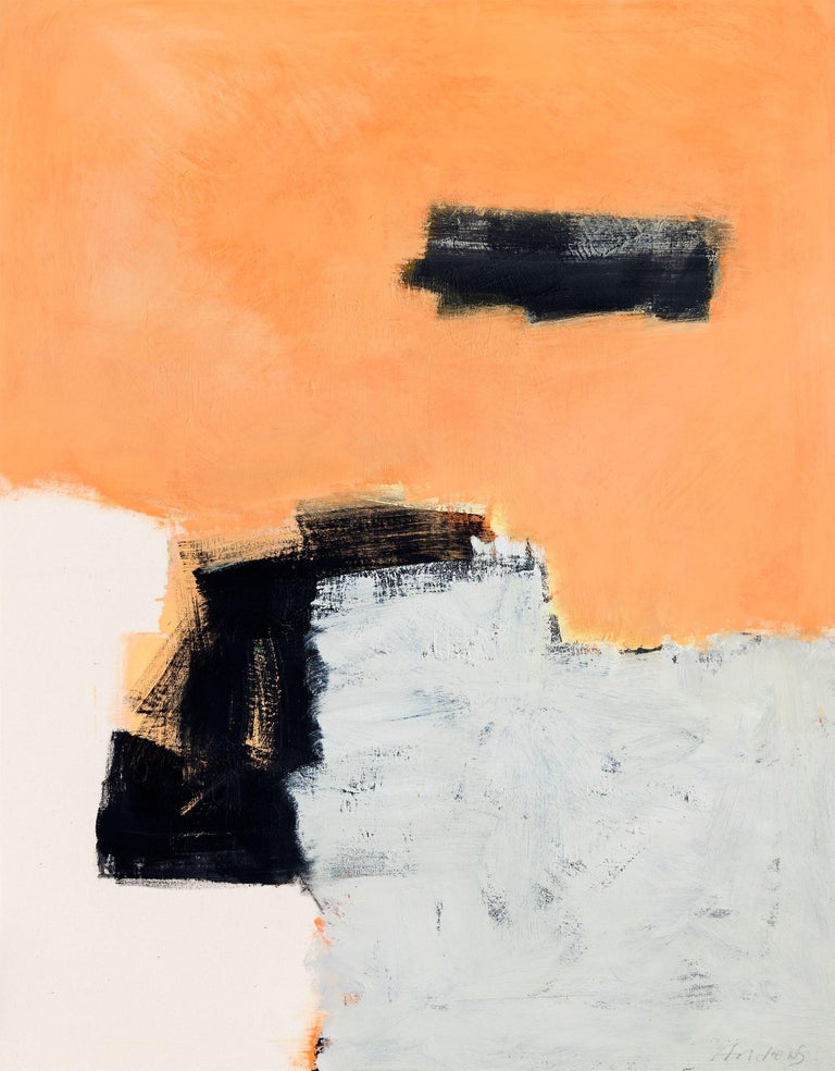 Annabel Andrews Abstract Painting - Sand, Painting, Acrylic on Canvas
