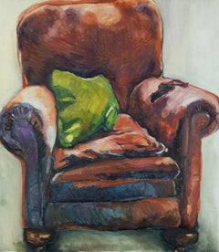 The Armchair by Annabel Daou, Oil painting