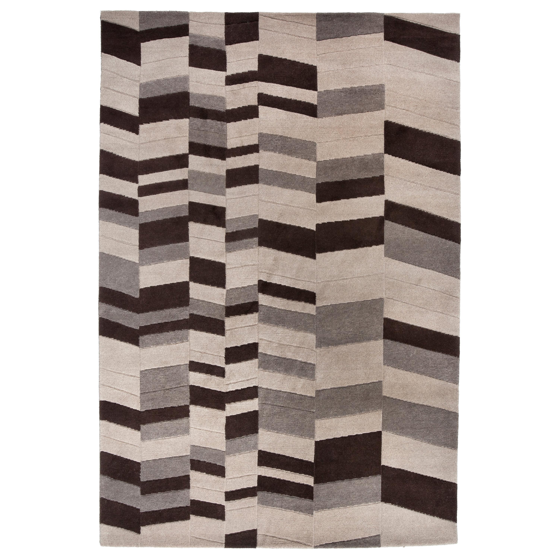 Annapurna Carpet, Handknot, Himalayan Wool, 60 Knots, Bartoli Design