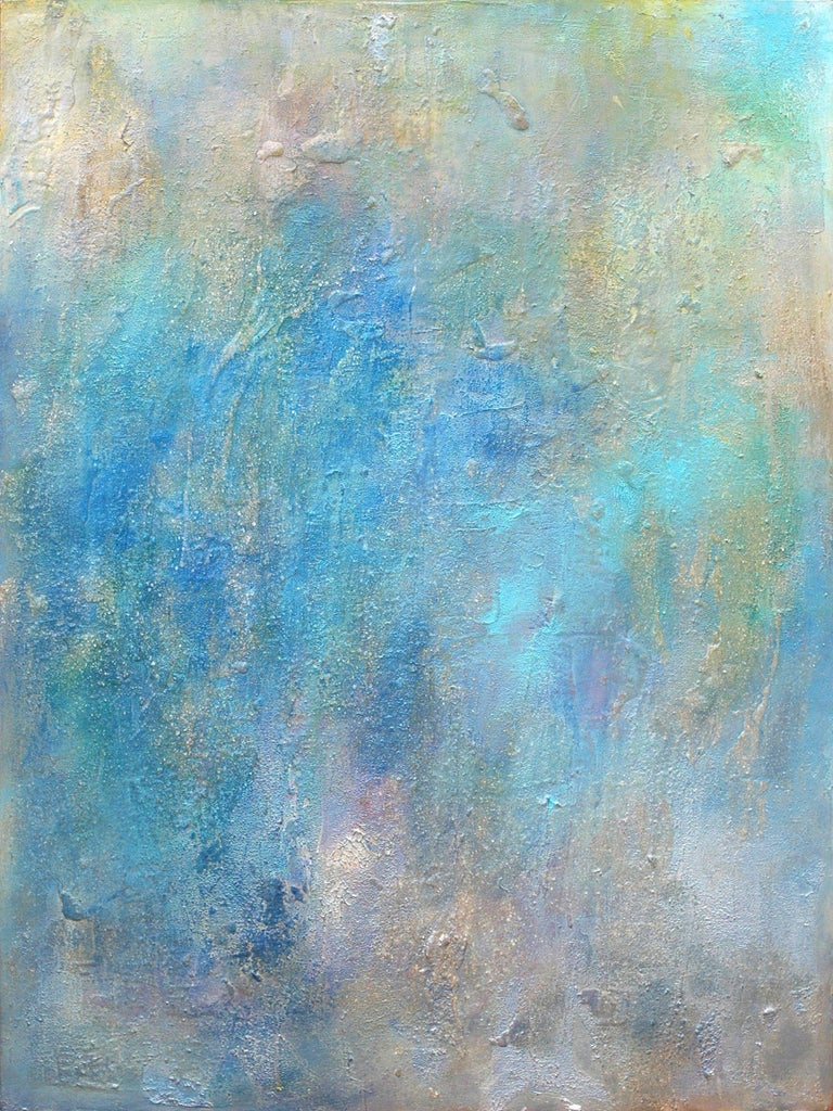 Anne B Schwartz Abstract Painting - 113 Oceana, Painting, Acrylic on Canvas