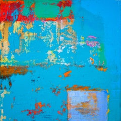 157 Gratta Azzurra, Painting, Acrylic on Canvas