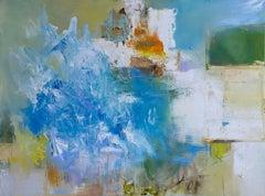 376 The Sea Near Sorrento, Painting, Oil on Canvas