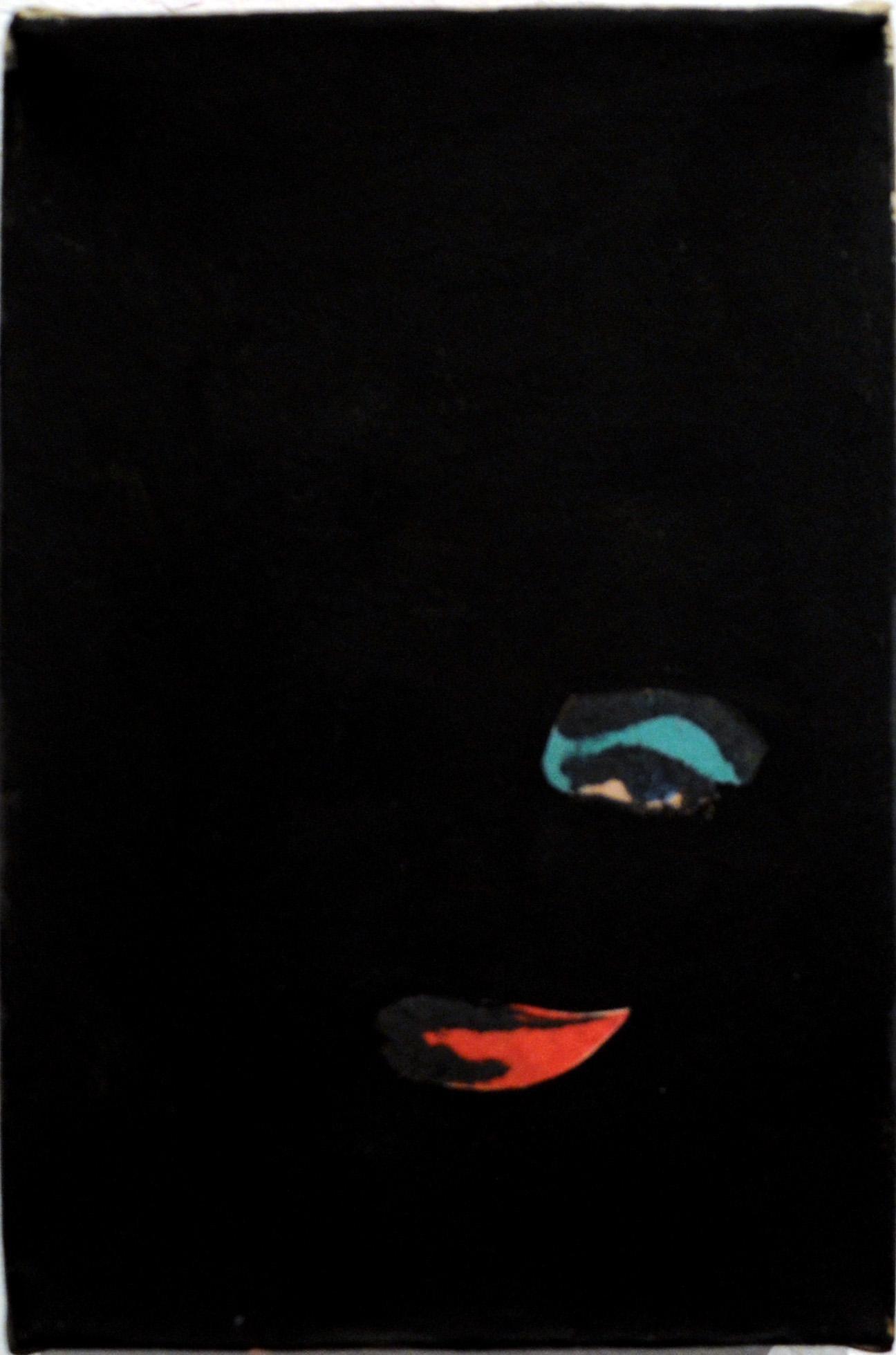 Anne Deleporte, Liz, Gesso on Newsprint, 2014, Elizabeth Taylor, Andy Warhol