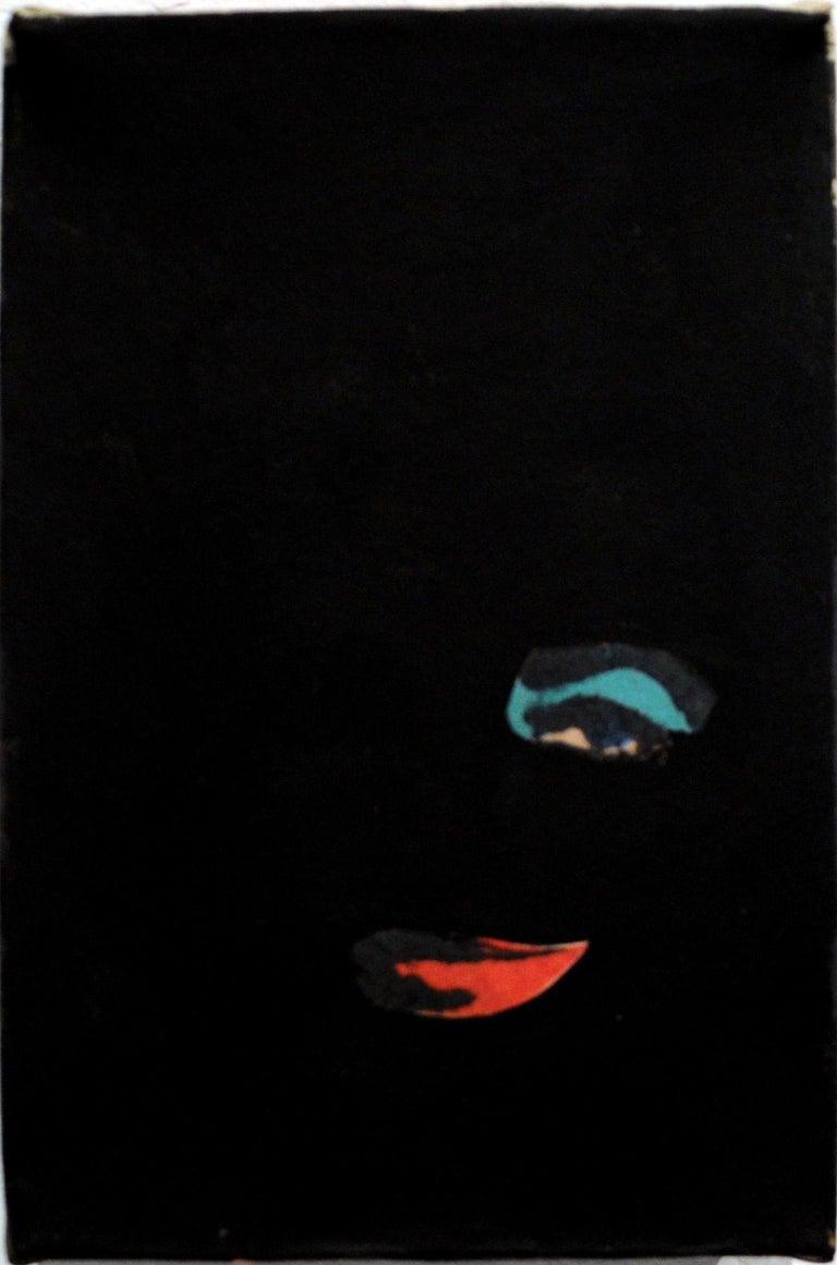 Anne Deleporte, Liz, Gesso on Newsprint, 2014, Elizabeth Taylor, Andy Warhol - Mixed Media Art by Anne Deleporte