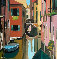 French Contemporary Art by Anne du Planty - Venise Le Bateau
