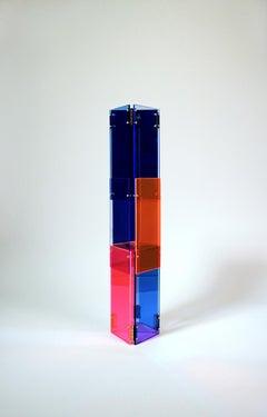Babel 03 - Concrete Abstract Art Sculpture Color Geometric Minimalist Bauhaus