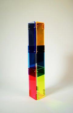Babel 07 - Concrete Abstract Art Sculpture Color Geometric Minimalist Bauhaus