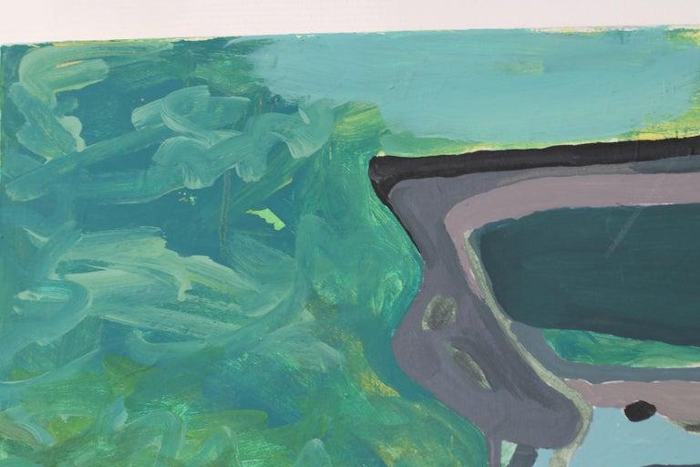 Départ, Acrylic on canvas, 90 x 120 cm, 2021 For Sale 2