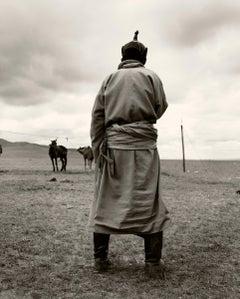 Boy in Mongolia
