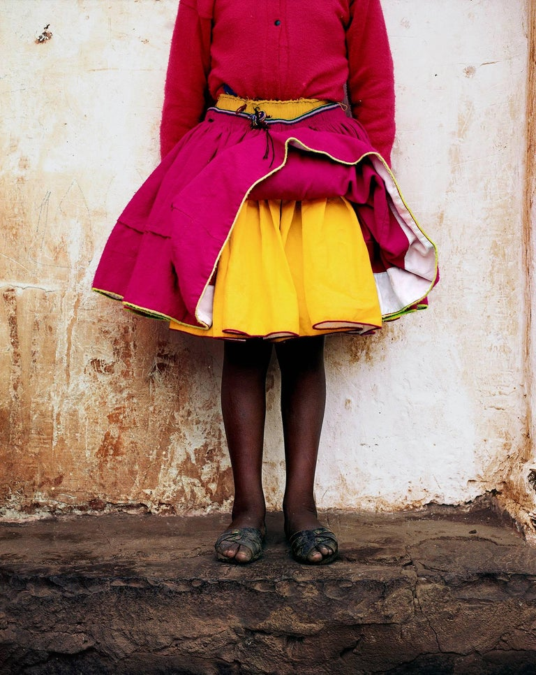 Anne Menke Portrait Photograph - Pink Skirt 2