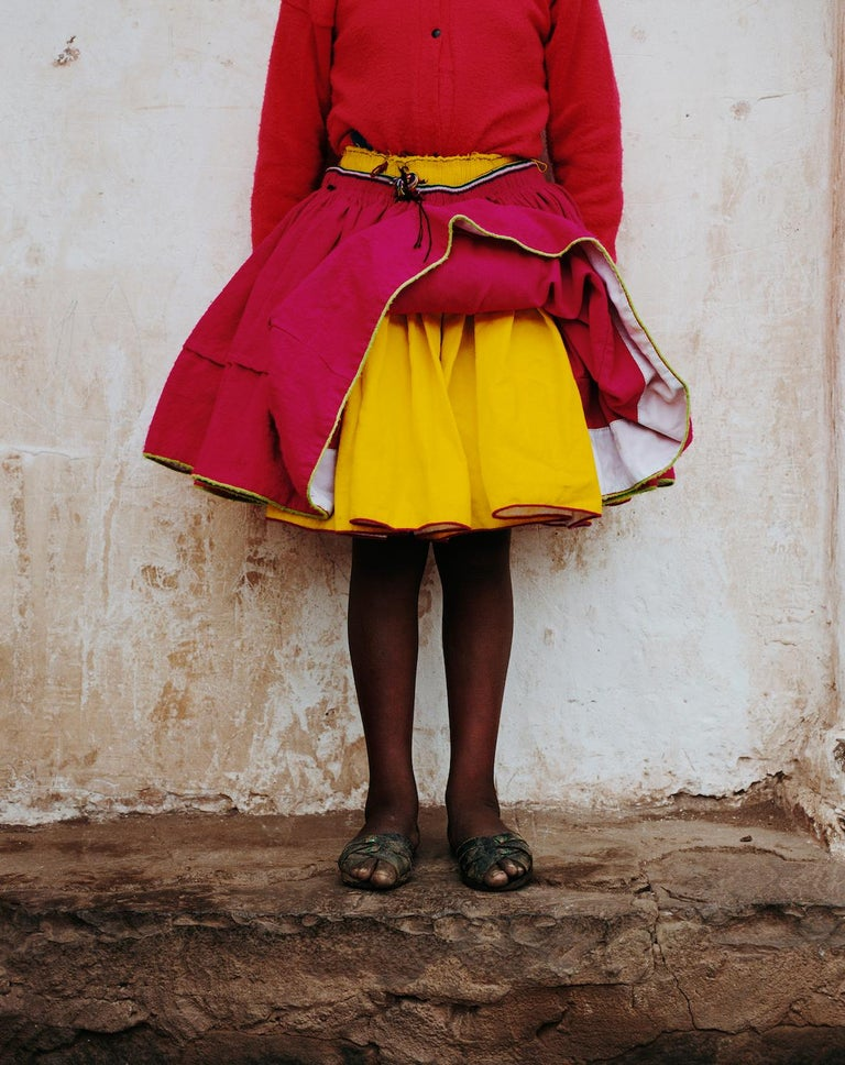Anne Menke Color Photograph - Pink Skirt Two