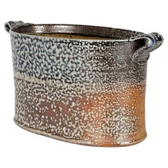 Anne Mette Hjortshøj Danish Studio Pottery Handled Dish