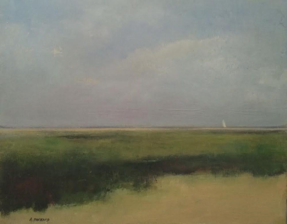 """There They Are, 24x30"""" oil painting by Anne Packard"""