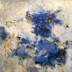 Daylight III, Abstract Oil Painting on Canvas, Signed
